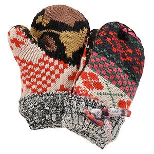 MUK LUKS® Girls' Mix It Up Mittens
