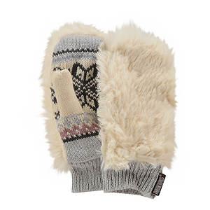 MUK LUKS® Girls' Snow Bunny Furry Mittens