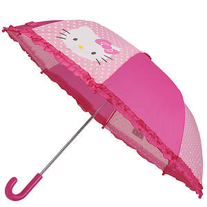 Western Chief Girls' Hello Kitty Cutie Umbrella