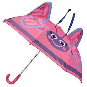 Western Chief Girls' Butterfly Umbrella