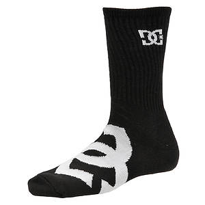 DC Men's Willis 3-Pack Crew Socks