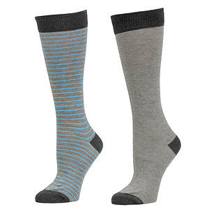 Timberland Women's Tall Cotton Crew Socks 2-Pack