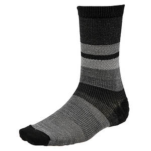 Smartwool Men's Distressed Stripe Crew Socks