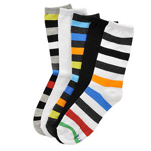 Stride Rite Boys' 5-Pack Monty Crew Socks (Toddler-Youth)