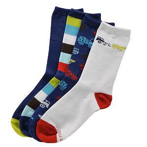 Stride Rite Boys' 4-Pack Jonah Crew Socks (Toddler-Youth)