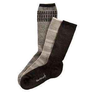 SmartWool Men's 3-Pack Ultra Comfy Trios Socks