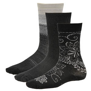 Smartwool Women's 3-Pack Ultra Comfy Trios Socks