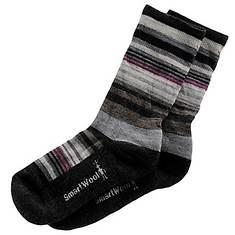 SmartWool Women's Everyday Jovian Stripe Crew Socks