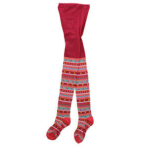 Smartwool Girls' Funky Fairisle Tights (Youth)
