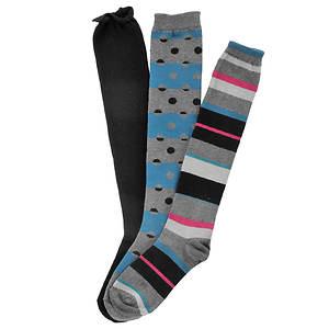 Chinese Laundry Women's 3-Pack Knee High Socks