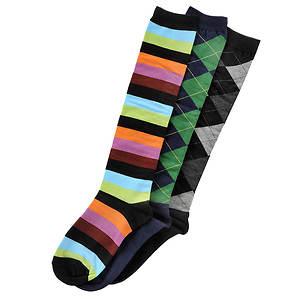 Sock It To Me Women's 3-Pack Preppy Socks