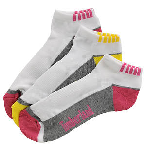 Timberland Girls' 3-Pack Sport Low Rider Socks