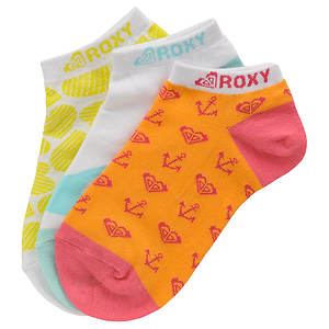 Roxy Girls' 3-Pack Hot Fudge Sundae Socks