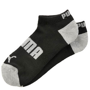 Puma Boys' 6-Pack Low Cut Contrast Heel & Toe Socks (Toddler-Youth)