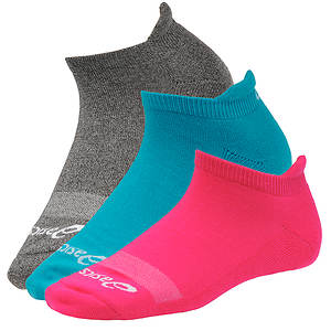 Asics Women's 3-Pack Cushion™ Cut Socks