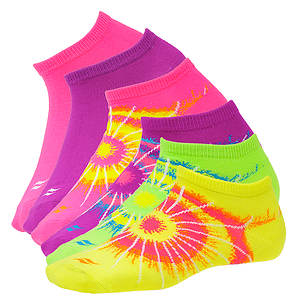 Sof Sole Women's 6-Pack Spiral Tie Dye No Show Socks