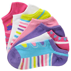 Stride Rite Girls' 7-Pack Darla No Show Socks (Toddler-Youth)