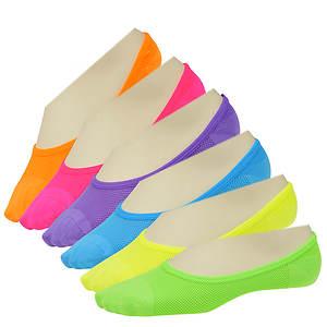 Sof Sole Women's 6-Pack Footies No Show Socks