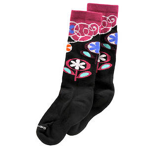 Smartwool Girls' Wintersport Flower Patch Socks