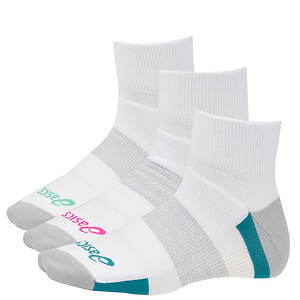 Asics Women's Intensity™ Quarter 3-pack Socks