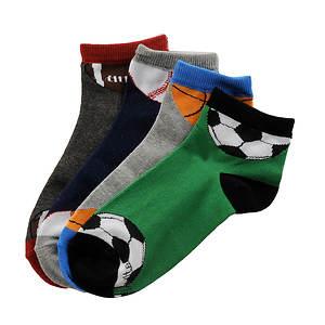 Stride Rite Boys' 4-Pack Blaine Quarter Socks (Toddler-Youth)