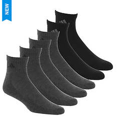 adidas Men's 6-Pack Quarter Socks