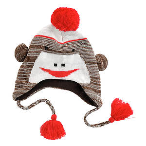 MUK LUKS® Kids' Monkey Hat