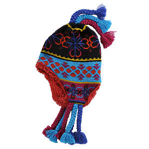 MUK LUKS® Girls' Tassel Helmet Hat