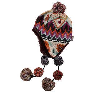 MUK LUKS® Women's Pommy Helmet Hat