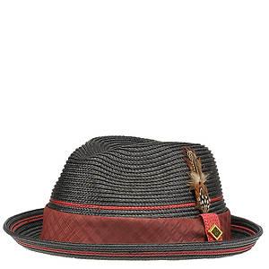 Stacy Adams Men's Fedora Straw Hat