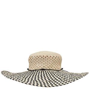 Roxy By The Sea Floppy Straw Beach Hat