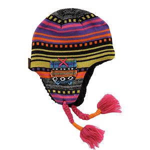 MUK LUKS® Girls' Guatemalan Helmet Hat