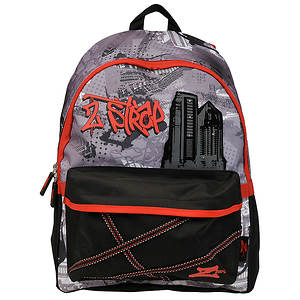 Skechers Boys' Z-Strap Street Graffiti Backpack
