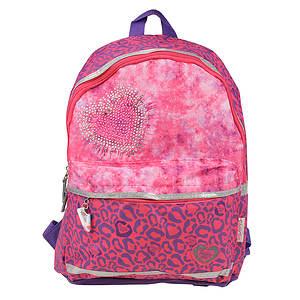 Skechers Girls' Twinkle Leopard Backpack