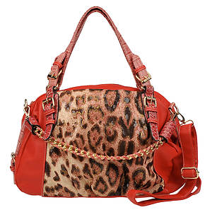 RAY-USA Cheetah Printed Shoulder Bag