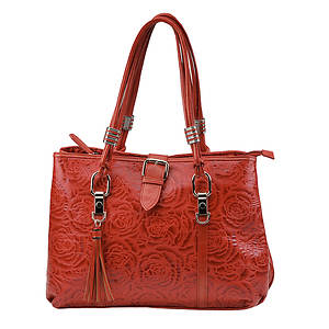Rose Tote With Double Handle