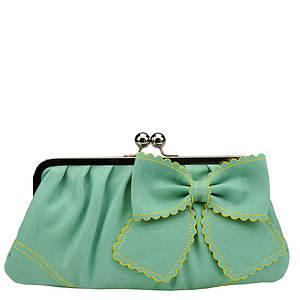 Jessica Simpson Women's Take A Bow Wristlet Clutch