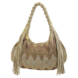Big Buddha Brandi Zig Zag Hobo Bag