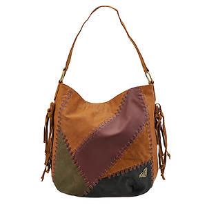 Roxy Always Prepared Patchwork Shoulder Bag