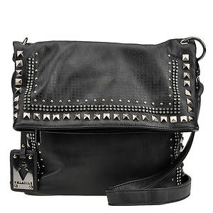 Volatile Jaded Stud Top Zip Bag