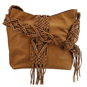 Lucky Brand Macrame Fringe Crossbody Bag