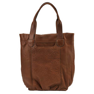 Lucky Brand Paisley Embossed Trippin Out Tote Bag