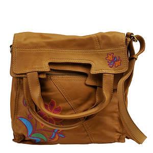Lucky Brand Abby Road Crewel Crossbody Bag