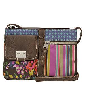Relic Roxanne Zip Patchwork Crossbody Bag