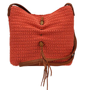 Lucky Brand Ojai Crochet Crossbody Bag