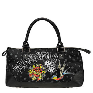 Ed Hardy Let It Ride Lucy Satchel