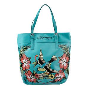 Ed Hardy Tania Hawaiian Fantasy Tote Bag