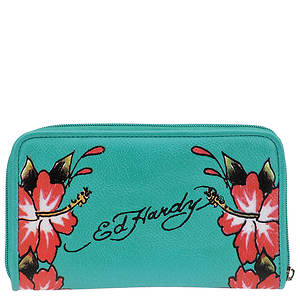 Ed Hardy Hawaiian Fantasy Wallet