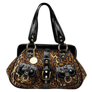 J. Renee Women's Animal-Print Handbag