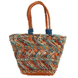 Volatile Aruba Woven Tote Bag